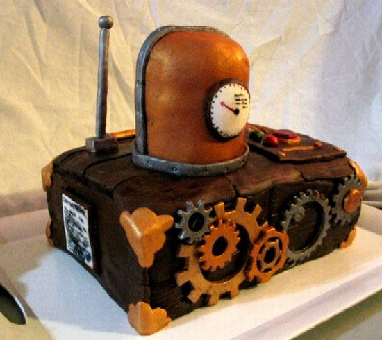steampunk inspired cake LDD53 59