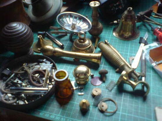 steampunk pistol 1