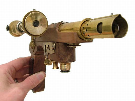 steampunk pistol 9