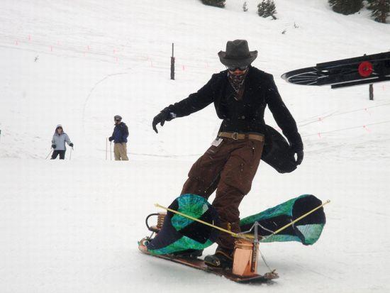 steampunk snowboard 3