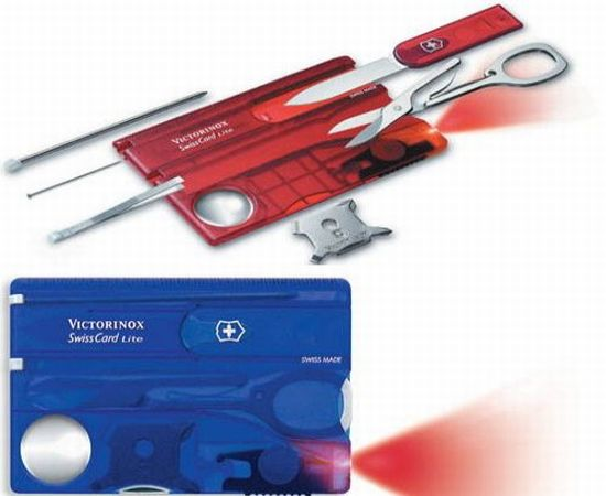 SwissCard Lite pocket tool