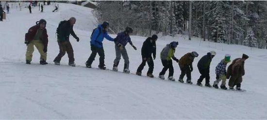 ten jews one snowboard