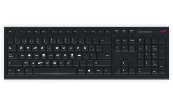 the brand keyboard 1