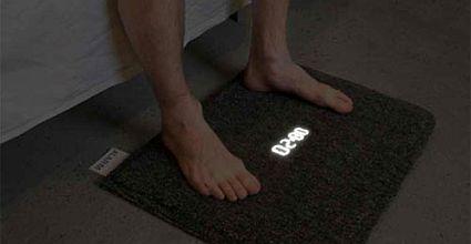 the carpet alarm clock 49