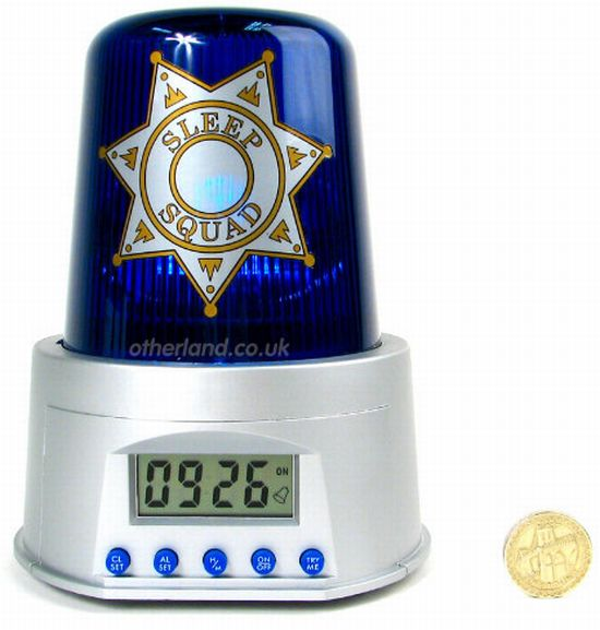 the police alarm clock 53O1O 59