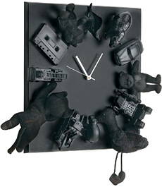 the vintage clock