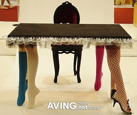the sexiest dining table