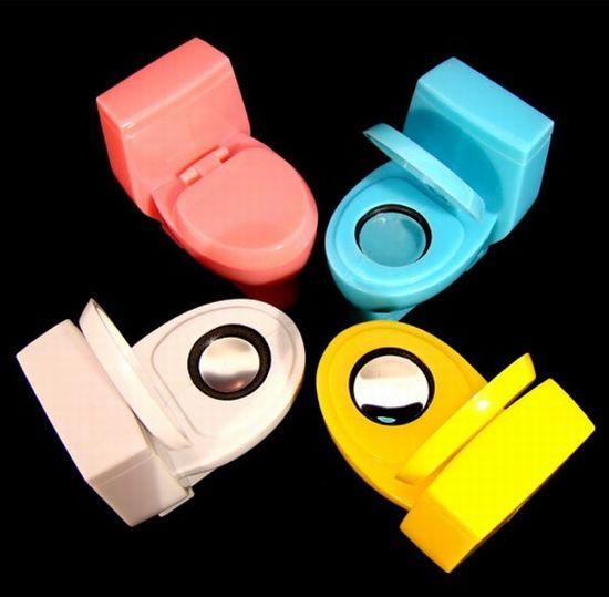 toilet speakers