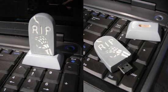 tombstone flash drive