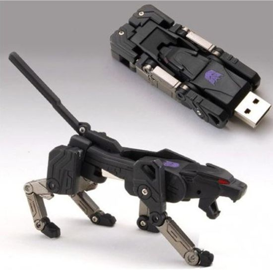 transforming usb flash drive