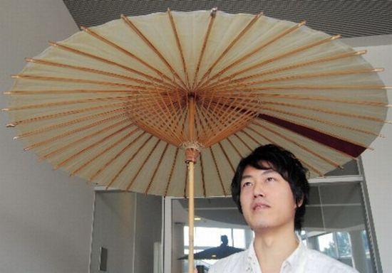 Как сделать японский зонт