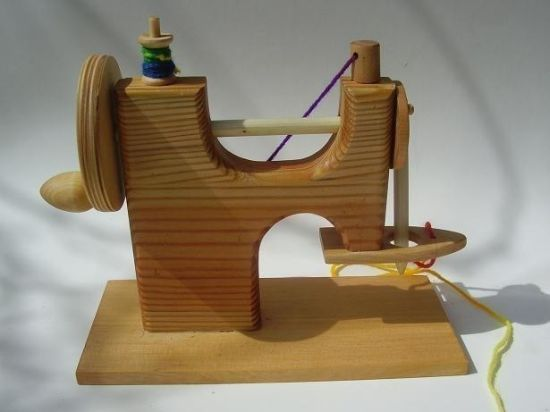 wood toy sewing machine 2