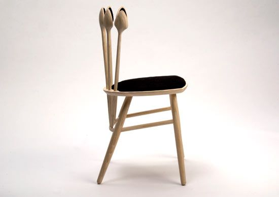 wooden spoon chair 1