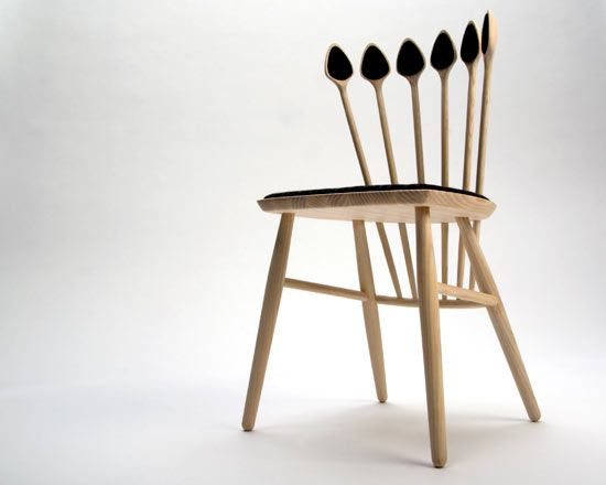 wooden spoon chair