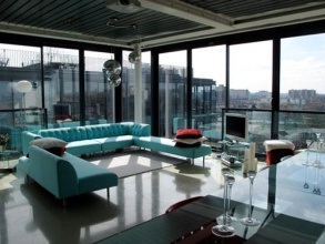 The penthouse, London. Priced at $ 200 million