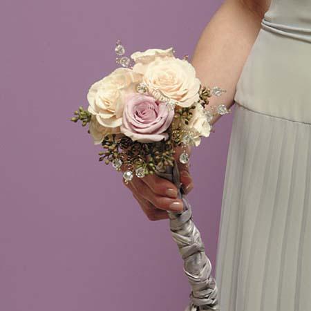 Rose Scepter Bridal Bouquet
