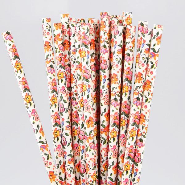 summer-floral-paper-straws