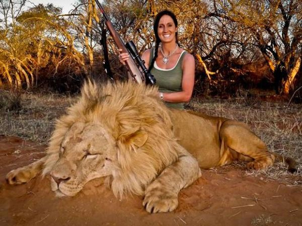 v3-Melissa Bachman dead lion