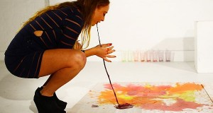 Millie Brown's Vomit Paintings