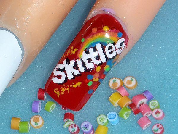 Snack nail design (2)