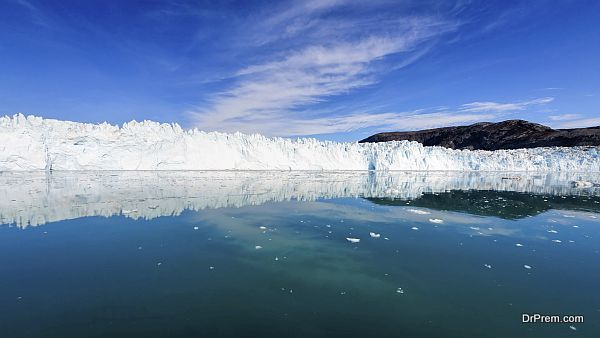 The Eqi glacier