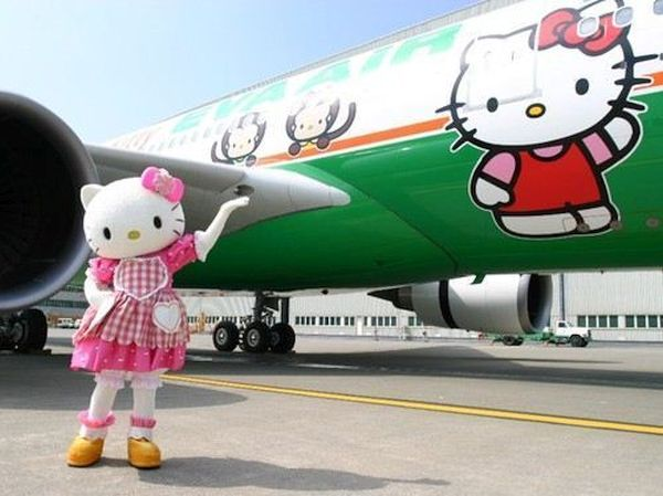 Hello Kitty airplane 1