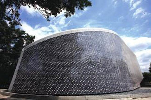 EcoARK exhibition hall in Taiwan