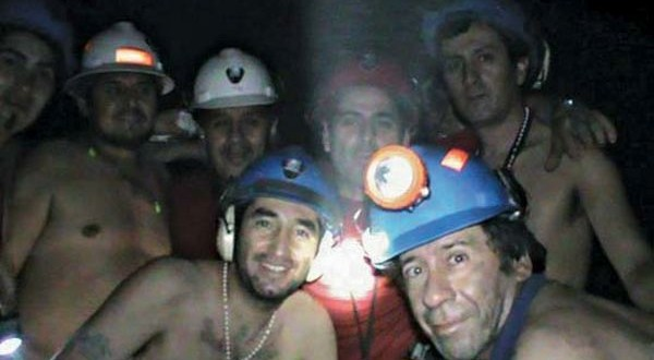 Miners buried alive