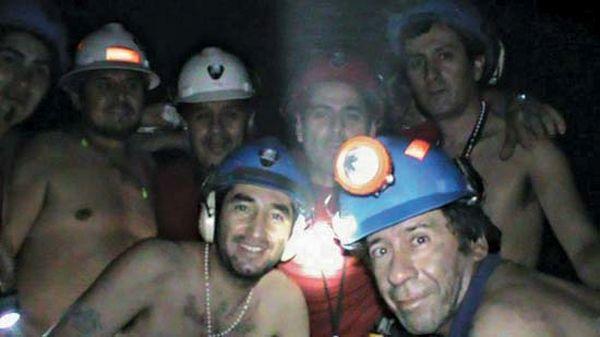 Miners buried alive