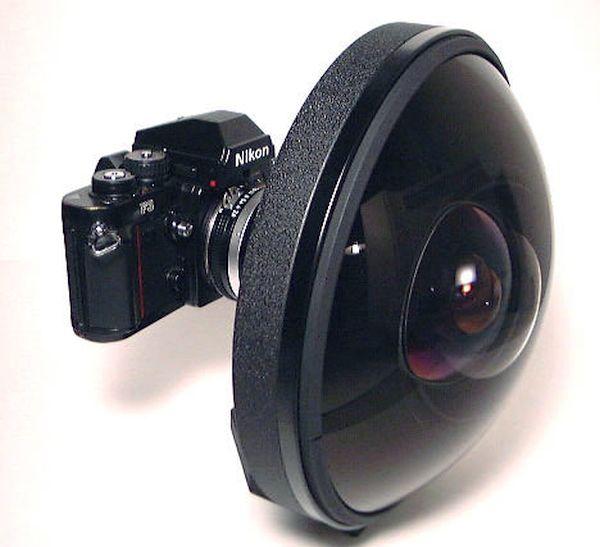 Nikon 6mm-fisheye lens