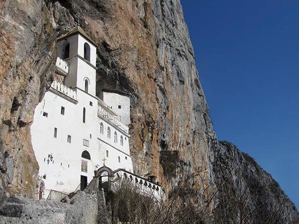 The Monastery of Ostrog, Montenegro