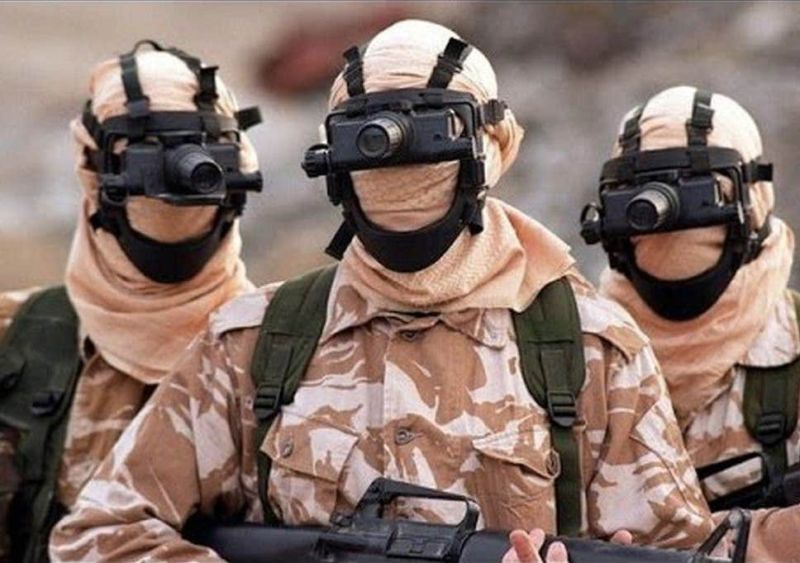 SAS(Special Air Service); United Kingdom