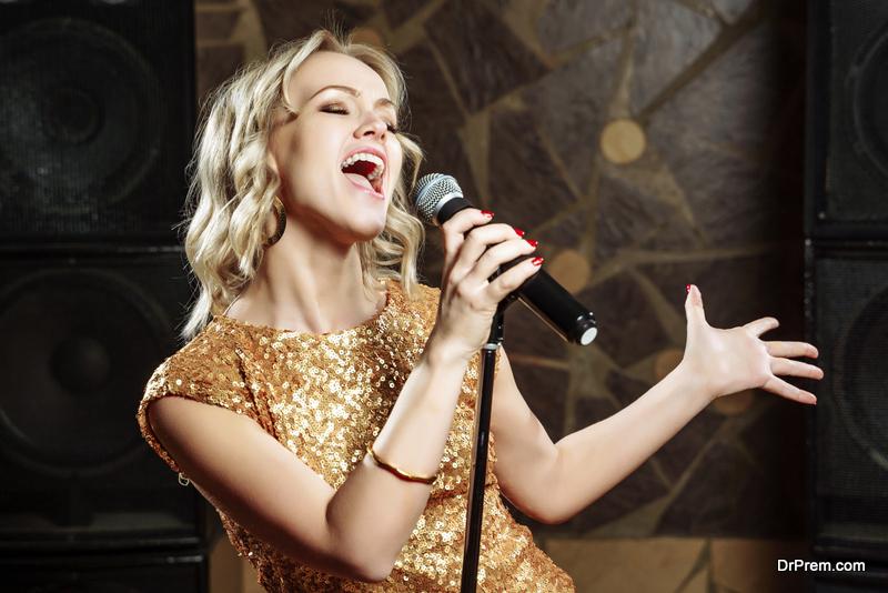 do karaoke at home