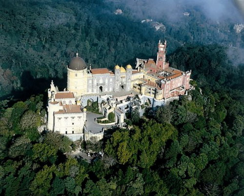 Palacio da Pena Top 10 Castles and Palaces around the world